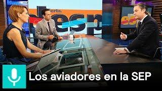 Aurelio Nuño habla sobre los 'aviadores' detectados en la SEP - Despierta con Loret thumbnail
