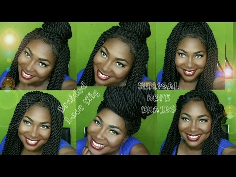 Sensationnel Synthetic Hair Empress Braided Lace Wig - SENEGAL ROPE BRAIDS