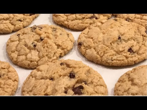 Ooey Gooey Chocolate Chip Cookies Without Eggs | Eggless Classic Chocolate Chip Cookie Recipe