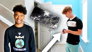 Breaking My Filmer's Phone, Then Giving Him an iPhone 11