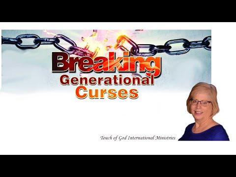Breaking Curses Releasing Blessings Pre-Recorded Webinar Special