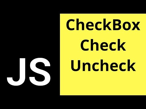 Javascript Checkbox - How To Check If A Check Box Is Checked Or Not