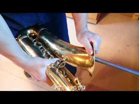 saxophone repair tools -saxophone dent repair 1. 011 017