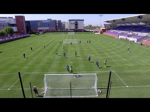 Team Mexico Practices at GCU Soccer Stadium