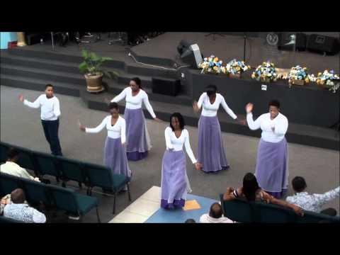 DPC Praise Dance (from YFC DADD 2012) - I Won't Go Back