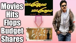 Pawan Kalyan Total Movies, Hits ,Flops,Budget and Collections ..