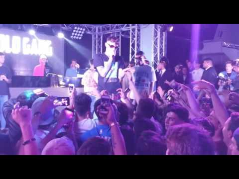 DPG - Dark Polo Gang - live Joya Urban Club Latina 24/04/2017 [Claux-B]