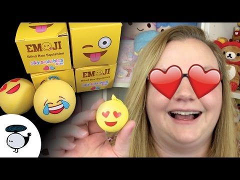 Silly Squishies Squishy Collection : NEW! EMOJI BLIND BOX SQUISHIES BY SILLY SQUISHIES! - YouTube
