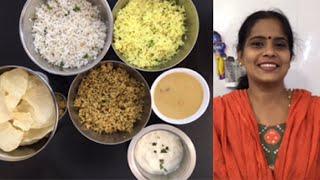 Chitra Pournami Spl | Variety Rice | Moong dhal Payasam | Puliyodharai | Coconut Rice | Lemon Rice | Curd Rice