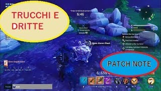 FORTNITE SAVE THE WORLD CHEONS AND NEW PATCH NOTE