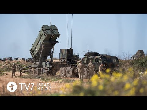 5,000 Israeli and US troops conduct anti-missile military drill - TV7 Israel News 12.03.18