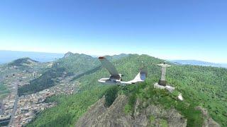 플라이트 시뮬레이터 2020 리우데자네이루의 구세주 그…