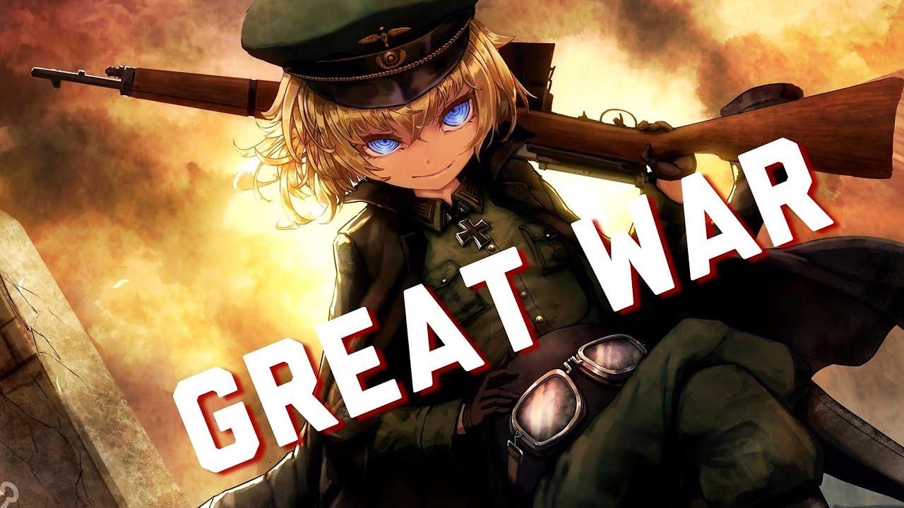 Youjo Senki - AMV - Sabaton - Great War (HD with Lyrics)