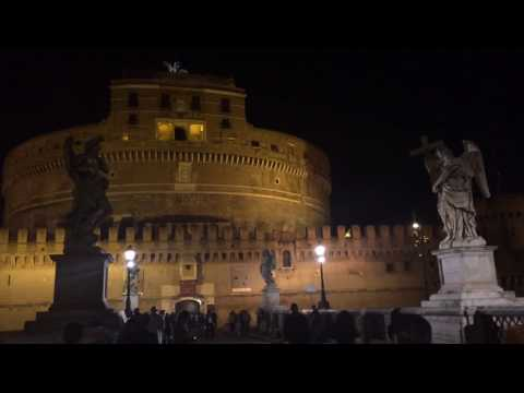 The Wall Pink Floyd CASTEL SANT'ANGELO ROMA