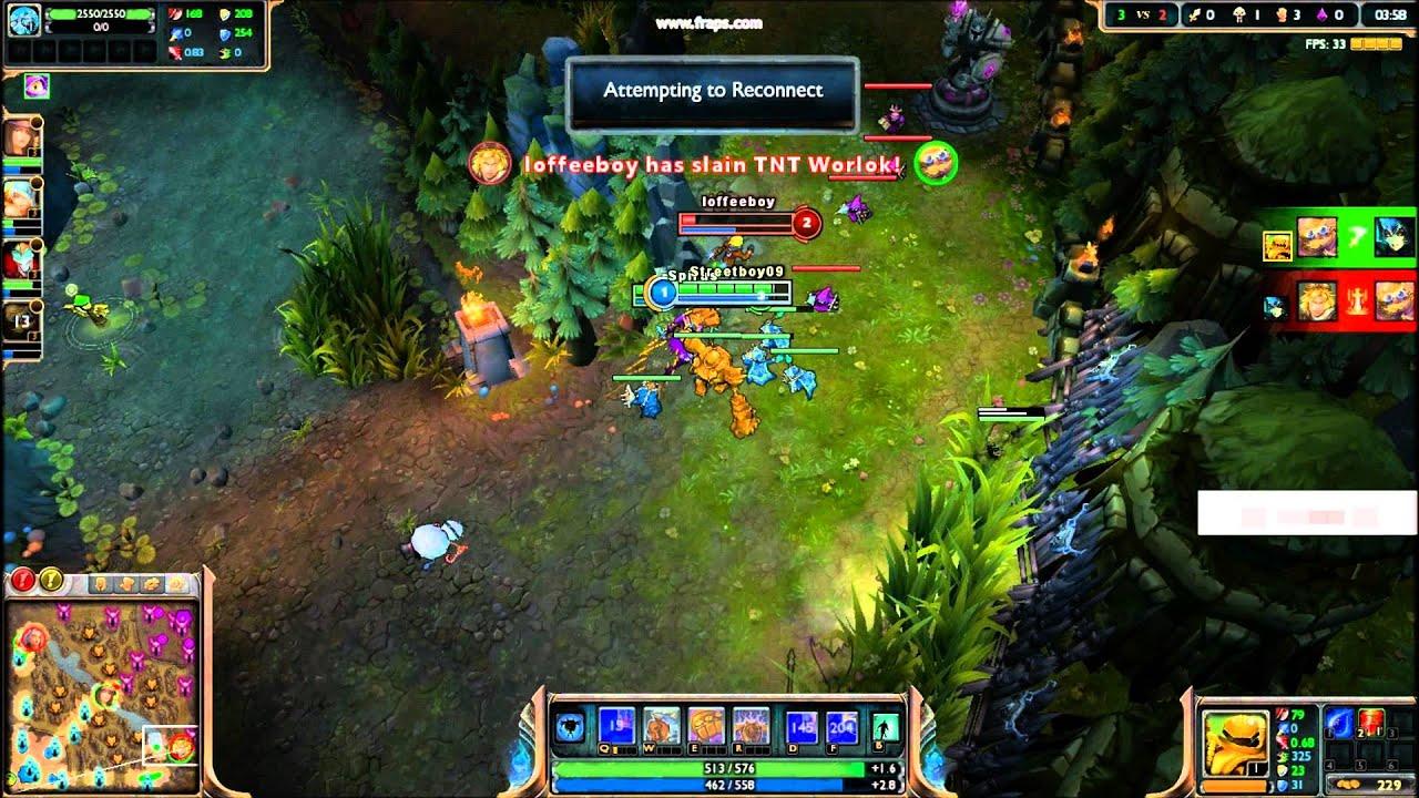Best Troll combo Bot lane- Blitzkranck+Shaco+Heimerdinger
