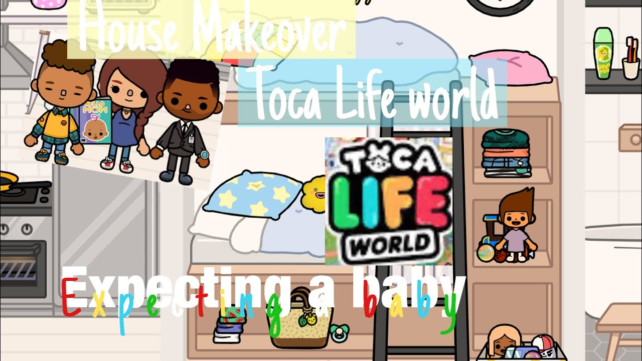 Expecting A Baby HOUSE MAKEOVER | Toca Life World - YouTube