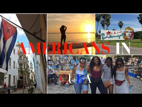 Americans Travel to Cuba 2017- VLOG