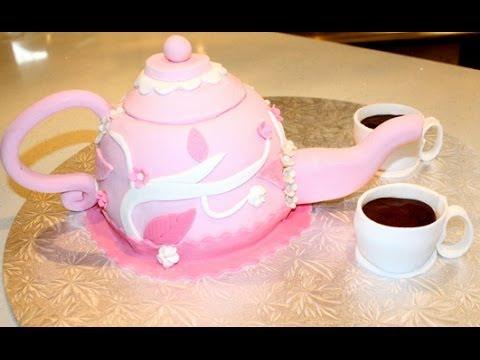 Teapot Cake Decorating Tutorial Youtube