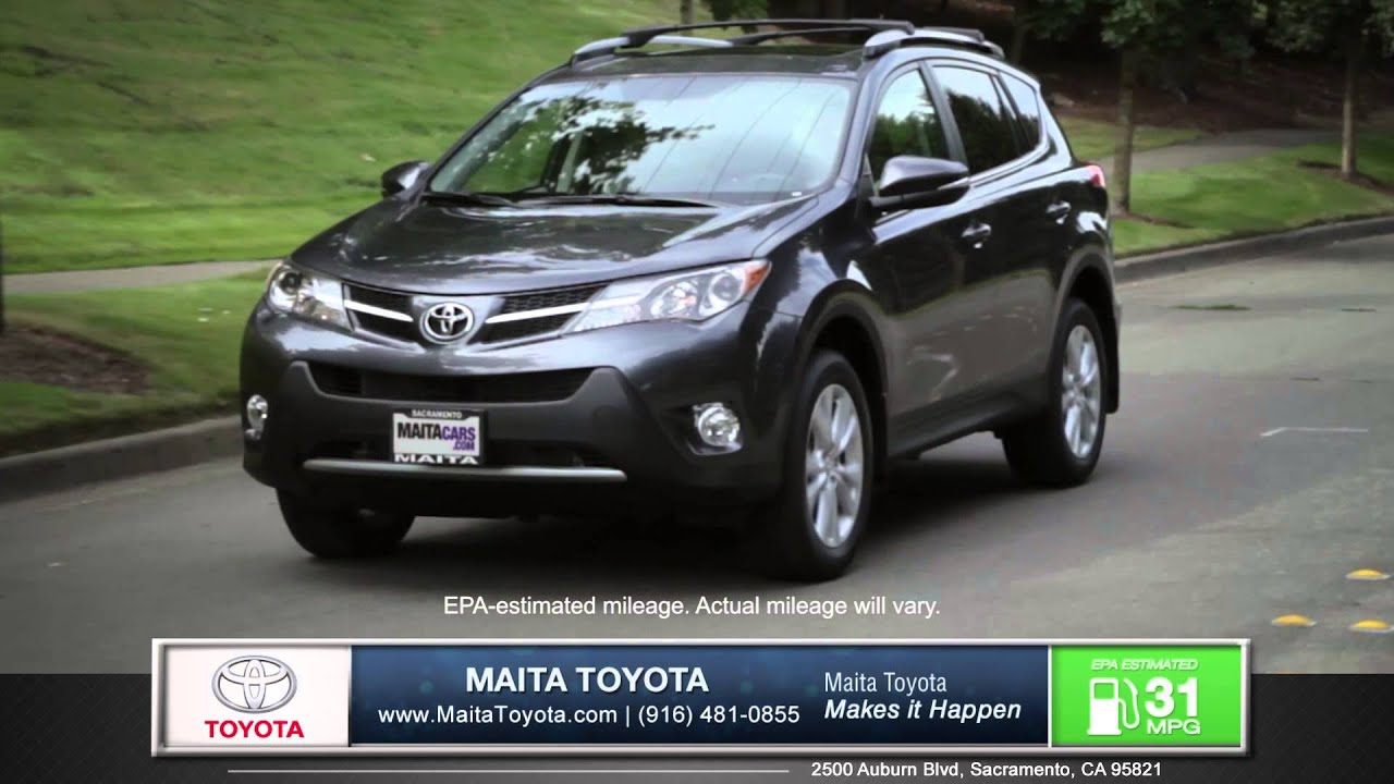 Maita Toyota Sacramento >> 2015 Toyota Rav 4 Car Review Maita Toyota New Used Car Dealership