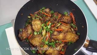 Chinese Stir Fry Crispy Fish Recipe - Asian Wok