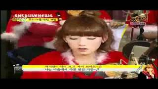 SNSD - Tae Yeon Sing Cut (lol~)