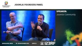 JWC15 - Joomla! Founders/Leaders Panel