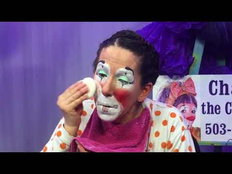 Clown Makeup Demo-Cha Cha the Clown