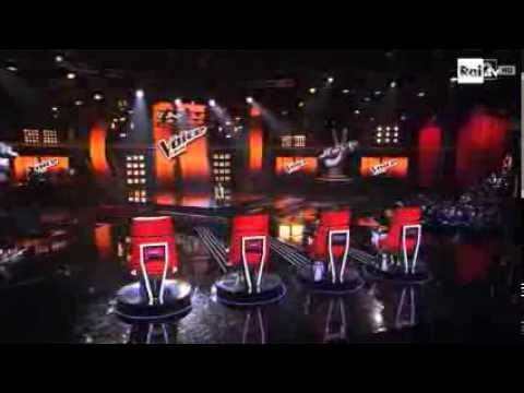 The Voice Of Italy 2014 - Luna Palumbo (Blind Audition)