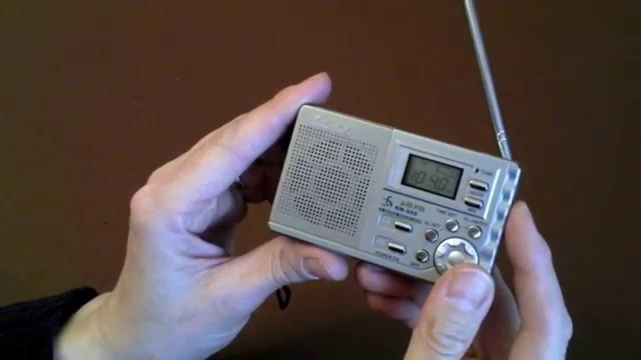 обзор маленького радио AM FM 2 Band KK 222 для отдыха , купленное .