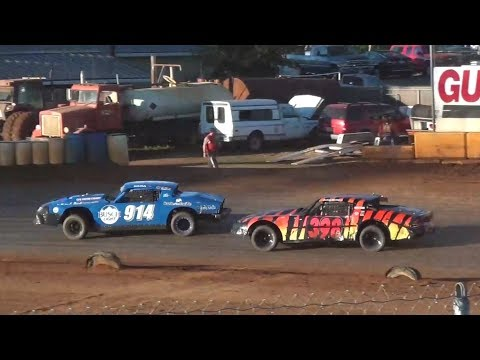 Street Stock Heats-Dash-B Main @ Sunset Speedway 2017