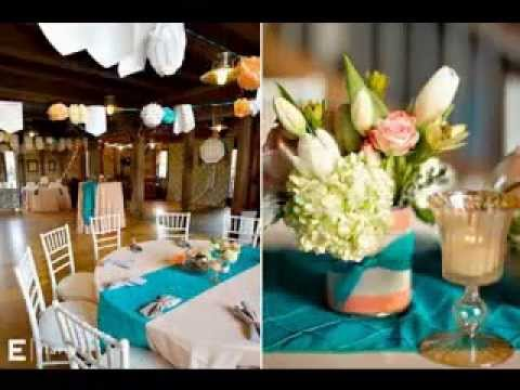 wedding ideas youtube best teal wedding decorations ideas 28032