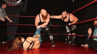 [Free Match] Hooligans vs. Heidi Lovelace & Jordynne Grace - Beyond Wrestling (Mixed, Intergender)