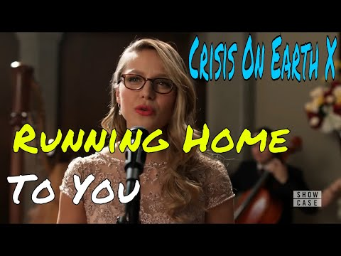 Melissa Benoist Sings Running Home To You | Crisis On Earth X | Supergirl S3x8
