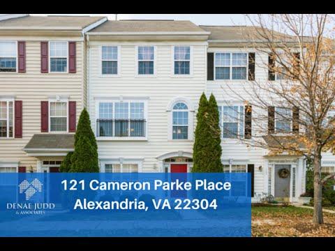 Home For Sale: 121 Cameron Parke Place Alexandria, VA 22304