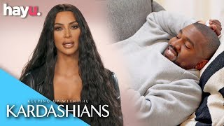 Kim Learns Kanye Is Moving To Chicago Via Viral Video | Season 16 | Keeping Up With The Kardashians