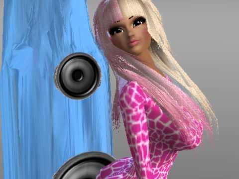 Super Bass Nicki Minaj IMVU Music video
