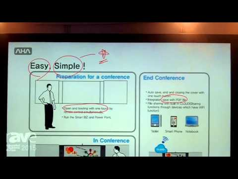 ISE 2015: AHA Intros Small Biz Premium Interactive Flat Panel Display