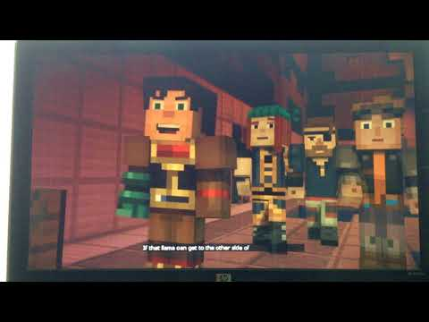 I HAVE NO WORDS/Minecraft Story Mode Season 2 episode 2 finale