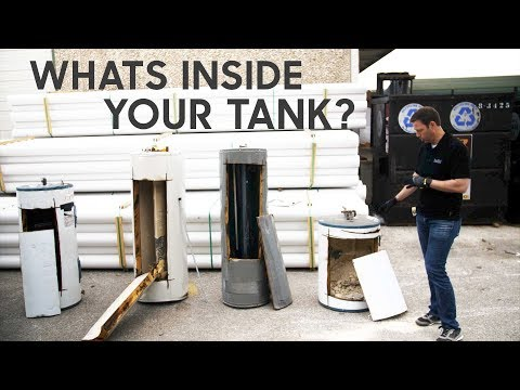 Four Water Heater Tanks Cut Open - Lessons to Learn