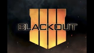Blackout battle royale / Call of duty c режимом из PUBG / Ну такое...