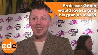NME Awards: Professor Green would love to give his gran an award