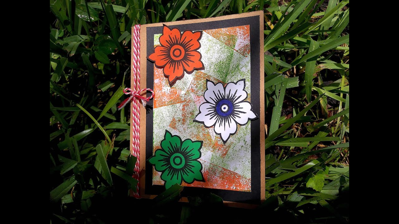 Indian Patriotic Card Independence Day Thank You Card For