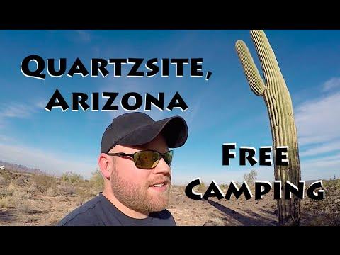 Free BLM Camping ~ Quartzsite, Arizona