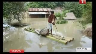Наводнения в Индии и Непале