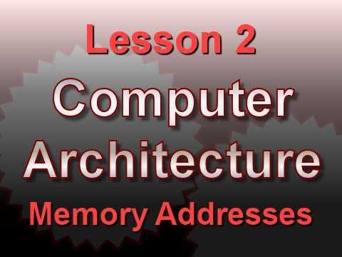 Computer Architecture Lesson 2: Memory Addresses