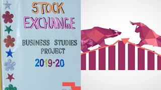 Business Studies's(Class-12) Project on Stock Exchange India