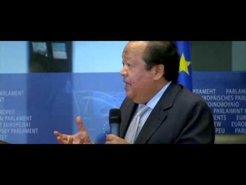 Prem Rawat at the European Parliament, Brussels, Belgium ...