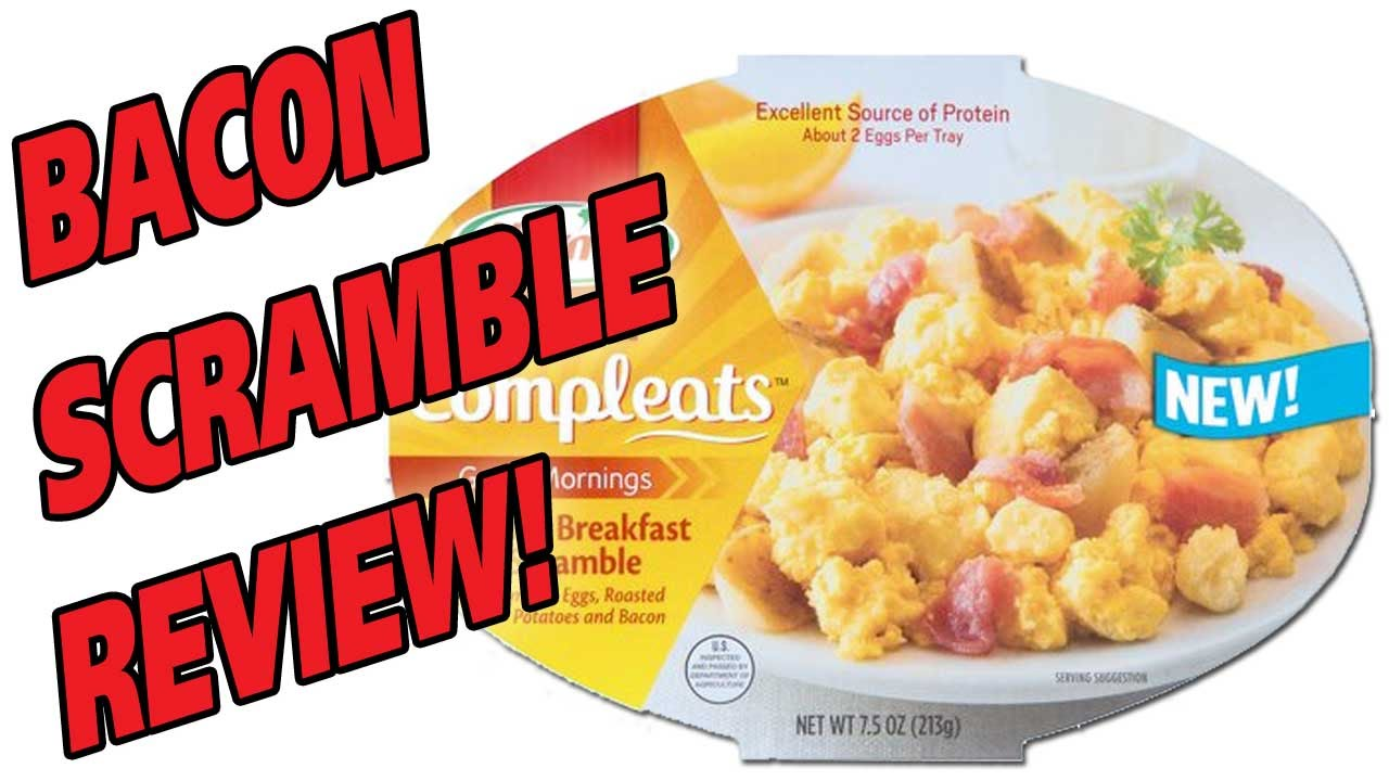 Hormel Compleats Bacon Breakfast Scramble Review Youtube