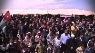 لقاء الملك عبدالله الثاني مع ابناء البادية الشمالية
