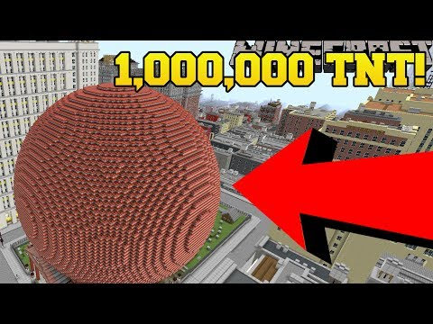 BLOWING UP 1,000,000 TNT IN NEW YORK CITY!!!!